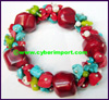 Coral Turquoise Bracelet