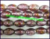 Foil Lined Glass Beads
