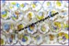 Flower Lampwork Glass Bead