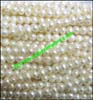 Pearl Bead Rondelles Shaped