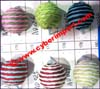 Textile Covered Beads
