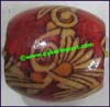 Wood Painted Bead
