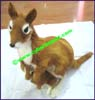 Figurine Fur Zoo Kangaroo