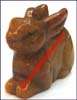 Rabbit Figurines Stone