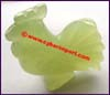 Jade Rooster Chicken Figurine
