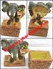 Elephant Zoo Figurine