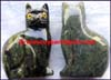 Figurines Cats Stone