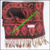 Paisley Synthetic Scarf