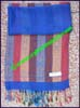 Royal Rossie Striped Cashmere Scarf