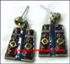 Alloy Painted Earrings