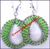 Earring Hoop Beaded