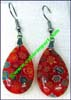 Jewelry Earrings Glass Millefiori