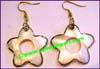 Earring Mother Pearl Shell Stars