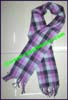 Plaid Acrylic Scarf