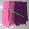 Synthetic Scarf Faux Cotton