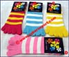 Socks Acrylic Five-Toe Two-Color