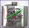 Flask Silk Screen Black Engrave
