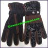 Gloves Fur Faux
