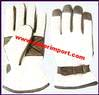 Gloves Leather Wool