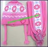 Girl's Hat Scarf Glove Sets