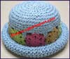 Girl's Upturn Brim Hat