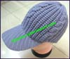 Ladies Cable Knit Baseball Cap