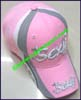 Ladies Embroidered Baseball Cap