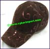 Ladies Leatherette Baseball Cap