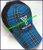 Ladies Plaid Baseball Cap