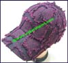 Ladies Raw Patchwork Baseball Cap