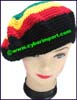 Ladies Crocheted Beret Cap