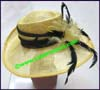 Ladies Hemp Big Brim Hat