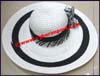 Ladies Paper Straw Big Brim Hat