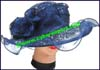 Ladies Polyester Big Brim Hat