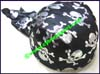 Ladies Skulls Biker Headscarf Cap