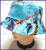 Ladies Patterned Bucket Hat