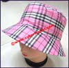 Ladies Plaid Bucket Hat