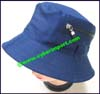 Ladies Solid Color Bucket Hat