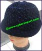 Ladies Worsted Cloche Hat