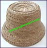 Ladies Straw Cloche Hat