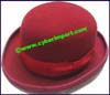 Ladies Wide Brim Bowler Hat