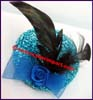 Ladies Feather Fascinator Cocktail Hat