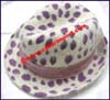 Ladies Animal Print Fedora Hat