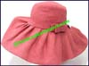 Ladies Synthetic Floppy Brim Hat