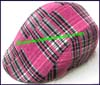 Ladies Plaid Ivy Cap