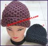 Ladies Acrylic Knit Stocking Cap