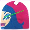 Ladies Artistic Knit Stocking Cap