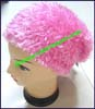 Ladies Hairy Fabric Stocking Cap