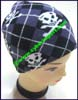 Ladies Skull Knit Stocking Cap