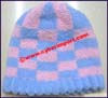 Ladies Terry Cloth Knit Stocking Cap